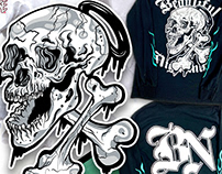 Nightmare Skull & Bones
