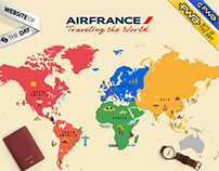 AirFrance - Traveling the World 2014
