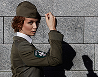 Polish Border Guard women's uniform