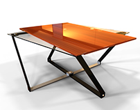 CrossBase Coffee Table