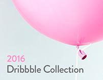 Dribbble Shots 2016