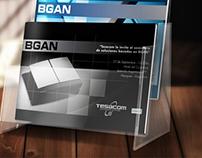 Diseño de flyers para Tesacom Argentina