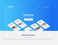 Second webdesign for Ako uspesne