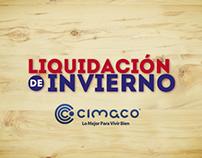 """Cimaco® """"Venta de Liquidación"""""""