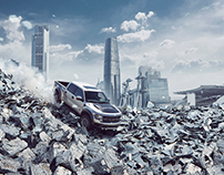 Scrapland - Ford Raptor
