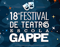 18º Festival de Teatro Escola Gappe | Advertising