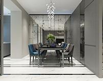 Дизайнерское решение пространства квартиры