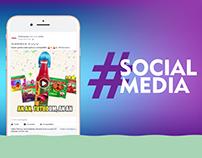 Social Media - Pindorama 2016/2017