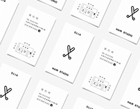 OLIA HAIR STUDIO / Branding Design