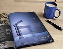Elegant Magazine Page Design