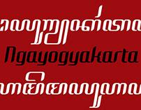 Javanese font: Jogjakartaip