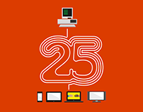 Microsoft // 25 Jahre Office // Keyvisual