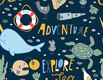 Summer Adventure Pattern Collection