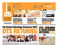 DTS Exhibition A3 Newspaper Design & Layout