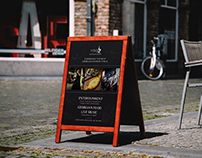 outdoor restaurant banner