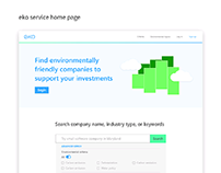 eko — environmentally friendly investment
