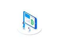 Crypto Corp. — лендинг для криптоаналитика