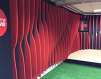 RADIO COCA COLA: Revestimiento de paredes