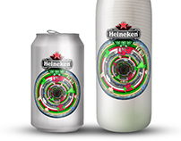 Heineken bottle design