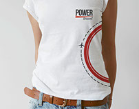 Camisetas Power Travel