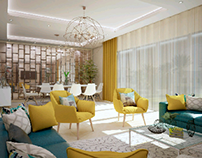 coastal villa reception Design (@ Hacienda )