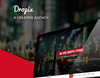 Dropix | Creative Agency Web Template