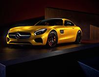 2016 Mercedes GT - CGI & Retouching