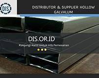 Distributor & Supplier Hollow Galvalum