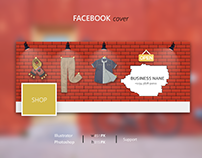 Facebook clothes shop cover