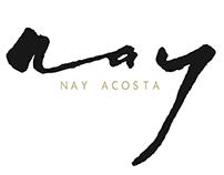 Nay Acosta Makeup Branding