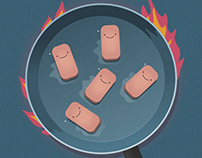 Cooking spam (GIF Animation)