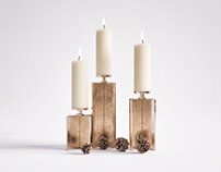Download; Axis Candle Holder Set