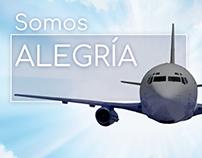 Aerolínea Venezolana, Animaciones cortas para redes