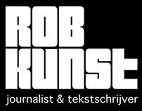 Huisstijl Rob Kunst journalist & tekstschrijver