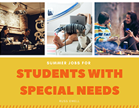 Summer Jobs for Students with Special Needs