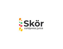 Skör coldpress juice | Logo