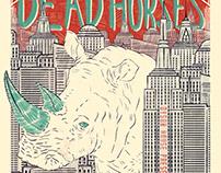 Dead Horses Gig Poster 2019