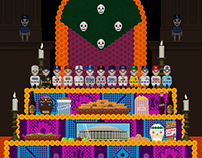 Day of the dead baseball teams