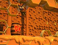 Donkey Kong - Wasp Hive Remastered (FAN MADE)
