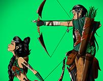 Elfos Thuaren - Salavar RPG