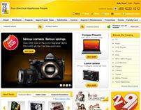 Website UI - ecommerce