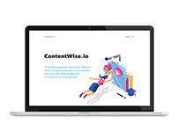 Keynote Presentation Design - ContentWise Sales Pitch