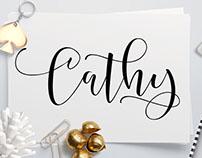 Cathy Typeface