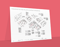 Isometric Illustration on Campus Experience