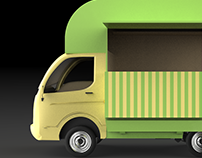Eclair - Innovative food truck design
