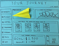 How can making a paper plane help you plan a vacation?