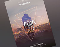 Urban Life Flyer Template