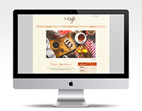 the Cafe website