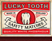 Lucky Tooth White Phosphour Matches
