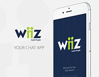 Wiiz Mobile Chat Branding and UI/UX